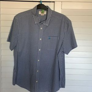 Penguin by Munsingwear short sleeve button down.